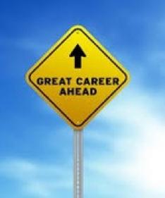 Great Career Ahead Signpost